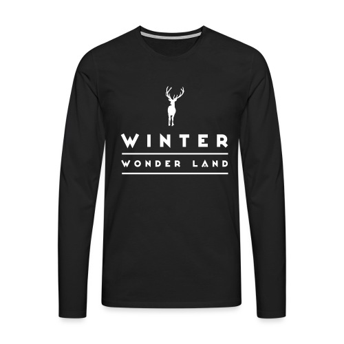 Winter Wonder Land - Männer Premium Langarmshirt