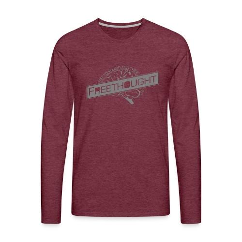 Freethought - Men's Premium Longsleeve Shirt