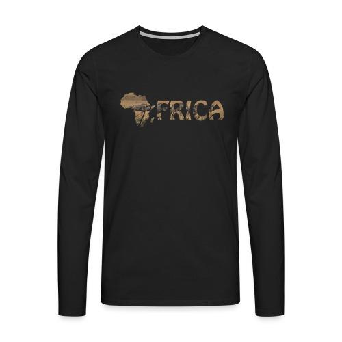 Africanlove - Männer Premium Langarmshirt