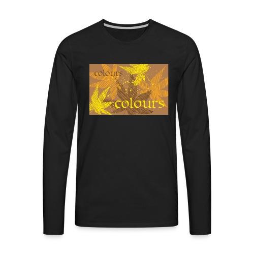 autumn imprint - Koszulka męska Premium z długim rękawem