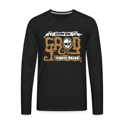 Scumm Bar Grog - Camiseta de manga larga premium hombre