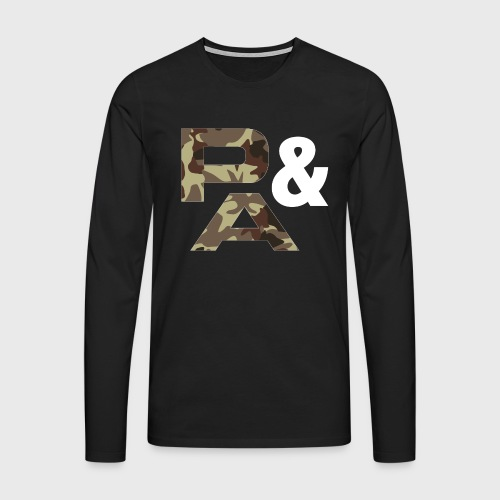 TIRANTES P&A CAMU - Camiseta de manga larga premium hombre