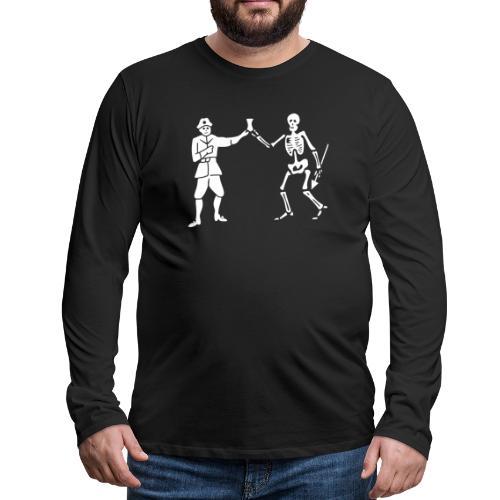Roberts Bartholomew Flag v1 - T-shirt manches longues Premium Homme