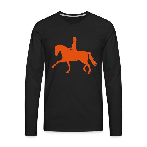 Dressurpferd - Männer Premium Langarmshirt
