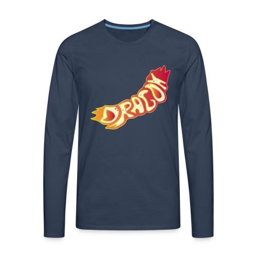 The Dragon - Männer Premium Langarmshirt
