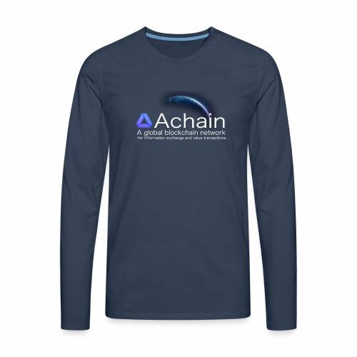 Achain, planet Earth - Maglietta Premium a manica lunga da uomo