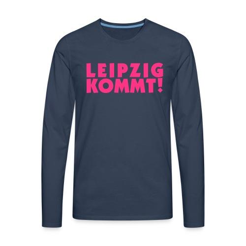 leipzigkommt leipziger leipzig - Männer Premium Langarmshirt
