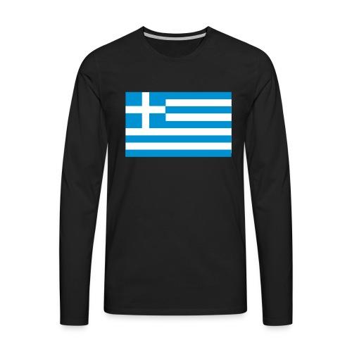 griechenland - Männer Premium Langarmshirt
