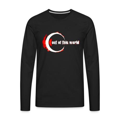 ootw red and white - Maglietta Premium a manica lunga da uomo