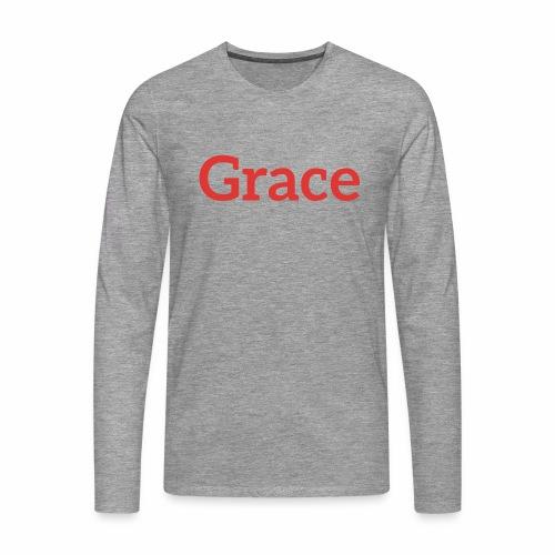 grace - Men's Premium Longsleeve Shirt
