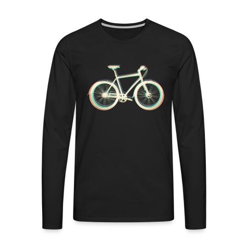 Fahrrad Bike Outdoor Fun Radsport Radtour Freiheit - Men's Premium Longsleeve Shirt