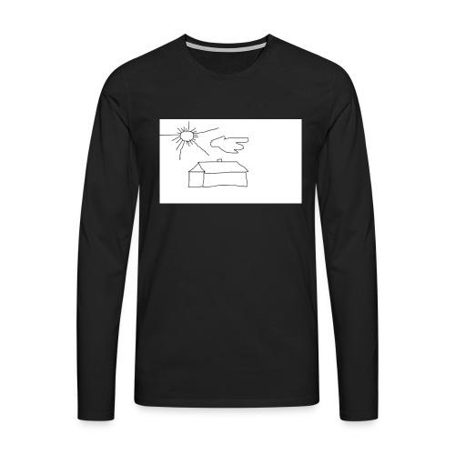 wies2503aw-png - Koszulka męska Premium z długim rękawem