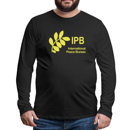 International Peace Bureau IPB Logo - Men's Premium Longsleeve Shirt