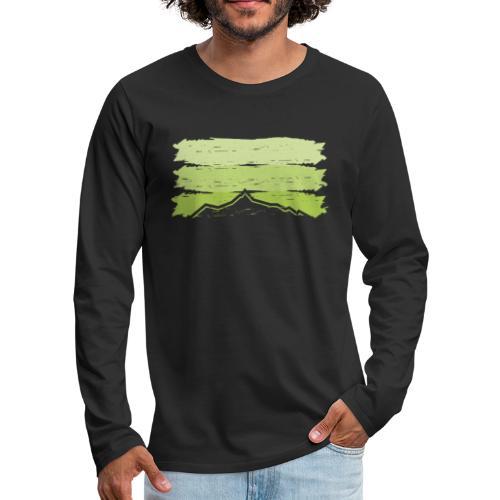 Ahorn - Männer Premium Langarmshirt
