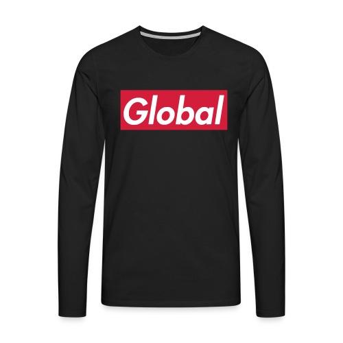 Global - Männer Premium Langarmshirt