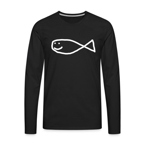 Aron Strandfisk Swagger Cap - Premium langermet T-skjorte for menn