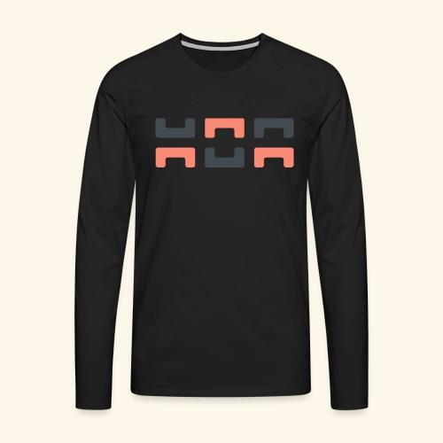 Angry elephant - Men's Premium Longsleeve Shirt