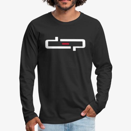 deplogo1neg red - Premium langermet T-skjorte for menn