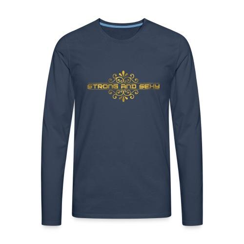 S.A.S. Cap - Mannen Premium shirt met lange mouwen