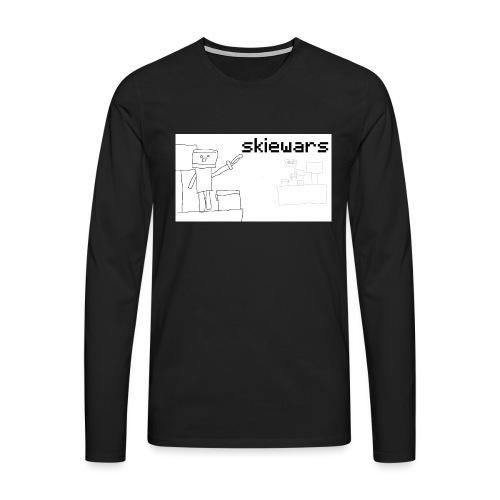 SKIEWARS - Mannen Premium shirt met lange mouwen