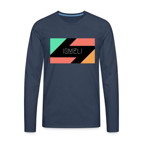 Irmelis Logo glothes - Miesten premium pitkähihainen t-paita