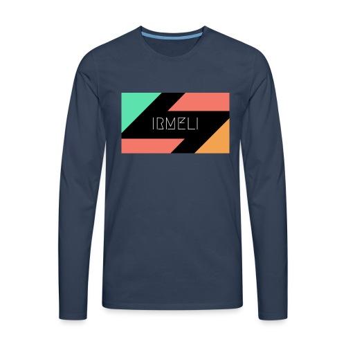 1 - Miesten premium pitkähihainen t-paita