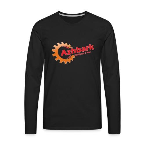 Azhbark Logo - Herre premium T-shirt med lange ærmer