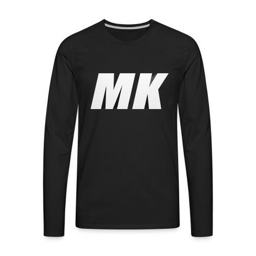 MK 3D - Mannen Premium shirt met lange mouwen