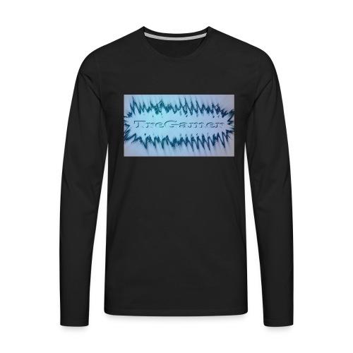 TreGamer - Herre premium T-shirt med lange ærmer