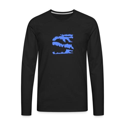 Blue_Sample.png - Männer Premium Langarmshirt