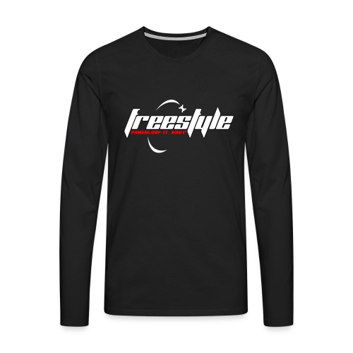 Freestyle - Powerlooping, baby! - Men's Premium Longsleeve Shirt