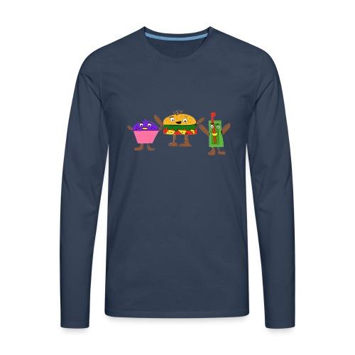 Fast food figures - Men's Premium Longsleeve Shirt