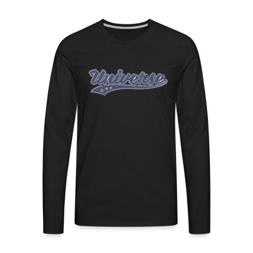 Universe Vintage - T-shirt manches longues Premium Homme