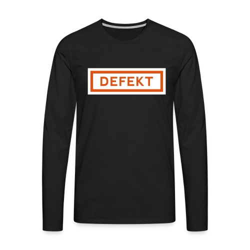 Defekt - Männer Premium Langarmshirt