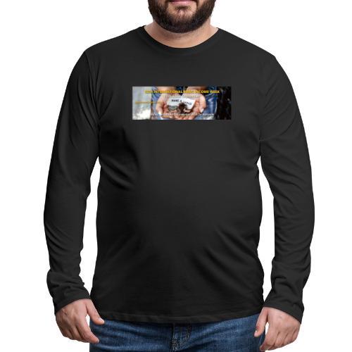 BIW-Cover - Mannen Premium shirt met lange mouwen
