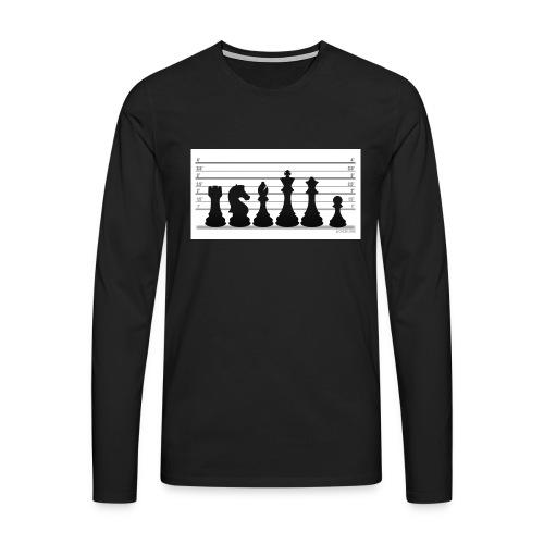 Lichess Lineup - Men's Premium Longsleeve Shirt