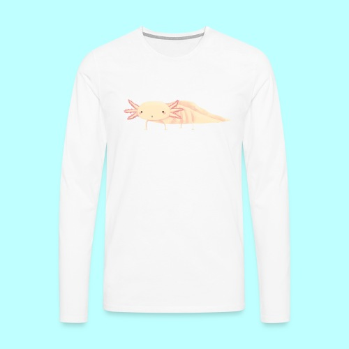 Axolotl - Männer Premium Langarmshirt
