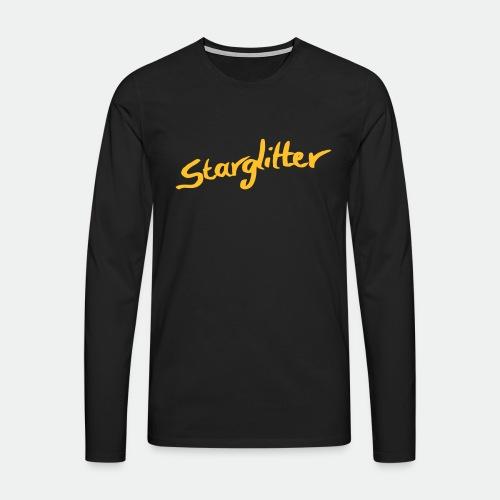 Starglitter - Lettering - Men's Premium Longsleeve Shirt