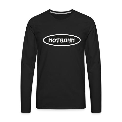 nothahn - Männer Premium Langarmshirt