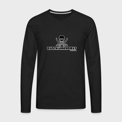 Badewannenpirat - Männer Premium Langarmshirt