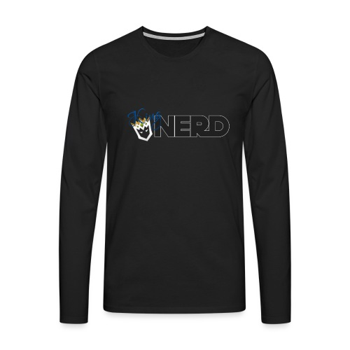 King-Nerd - Men's Premium Longsleeve Shirt