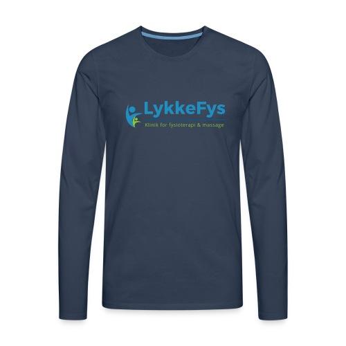 Lykkefys Esbjerg - Herre premium T-shirt med lange ærmer