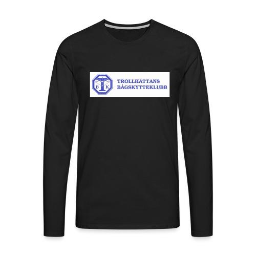 T-shirt Herr - Långärmad premium-T-shirt herr