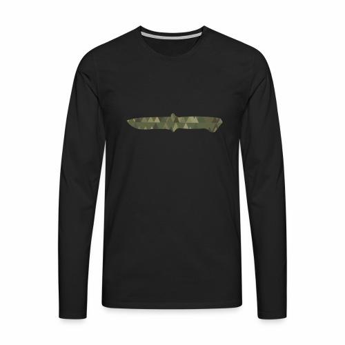 Knife - Männer Premium Langarmshirt