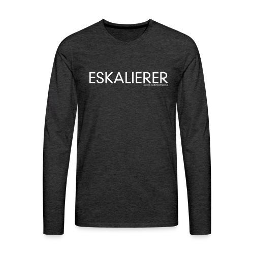 Eskalierer EDM - Männer Premium Langarmshirt