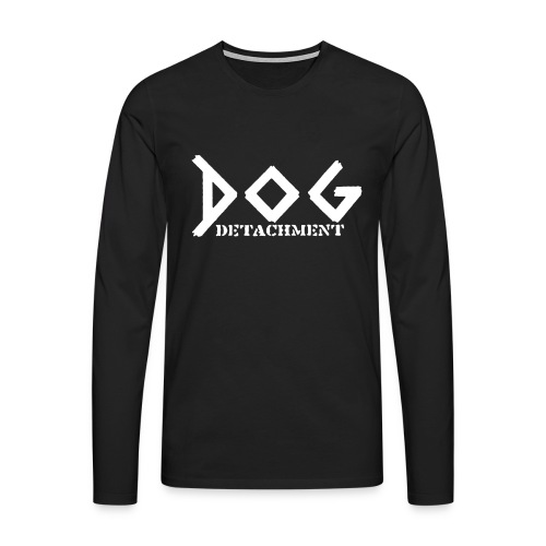 Dog Detachment Logo - Männer Premium Langarmshirt