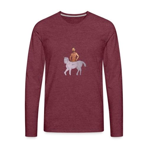Das Biturmemehorn - Männer Premium Langarmshirt