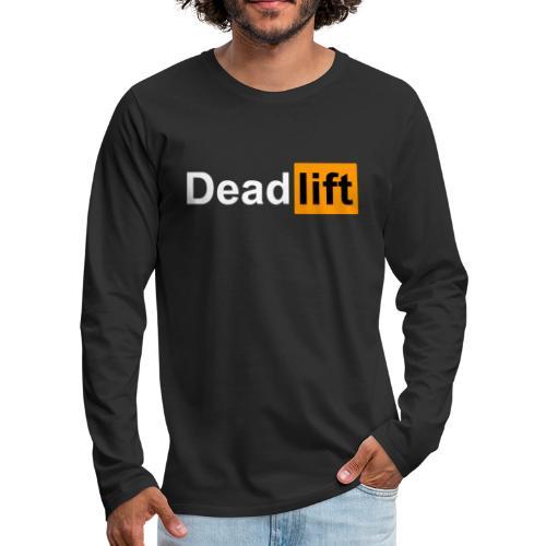 DeadLift X - T-shirt manches longues Premium Homme
