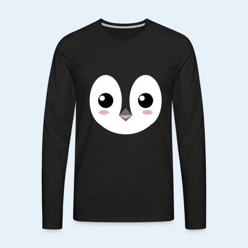 Pingüino bebé (Cachorros) - Camiseta de manga larga premium hombre