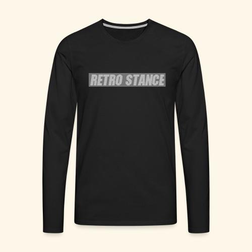 Retro Stance - Men's Premium Longsleeve Shirt
